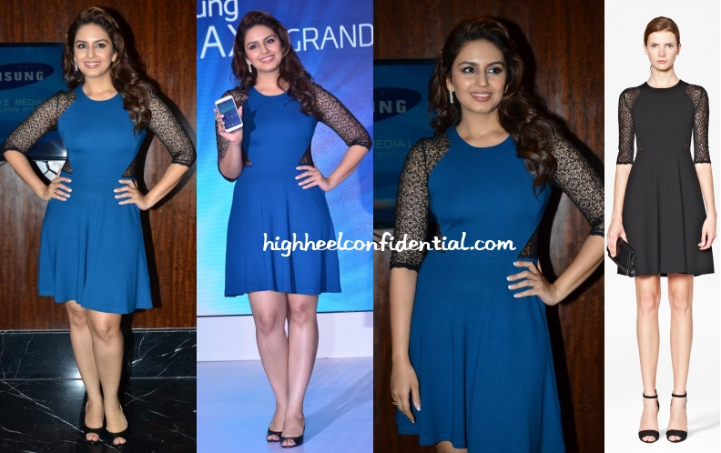 huma-qureshi-french-connection-samsung-launch