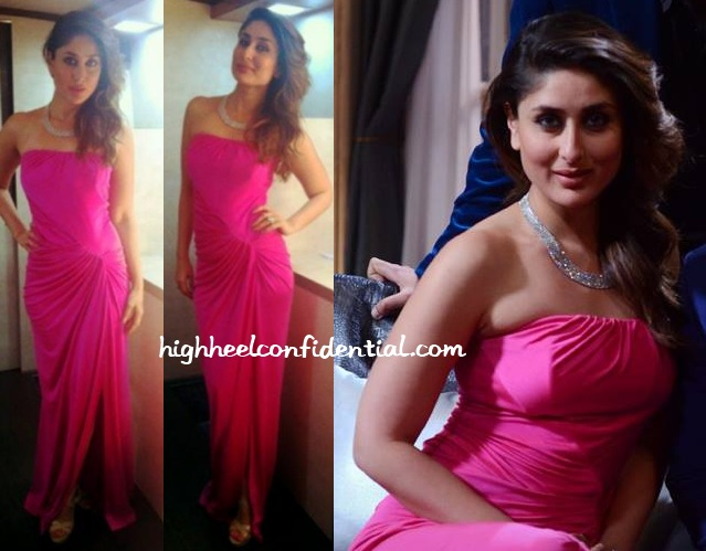 kareena-kapoor-koffee-with-karan-monisha-jaising-pink-gown