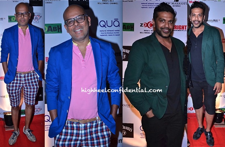 narendra kumar ahmad and rocky s at irfw 2013