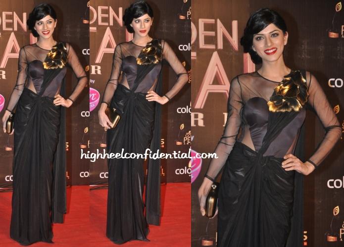 sapna-pabbi-amit-aggarwal-golden-petal-awards-2013