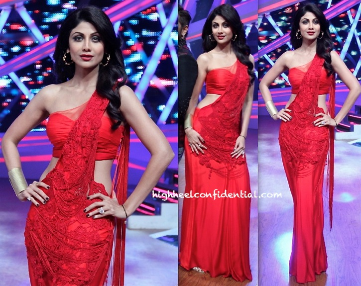 shilpa shetty on nach baliye in sonaakshi raaj