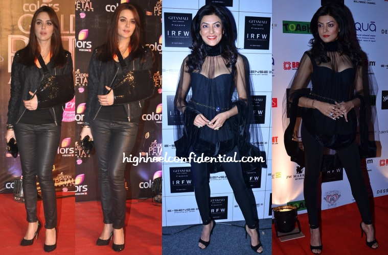 sushmita-sen-irfw-preity-zinta-golden-petal-awards-2013