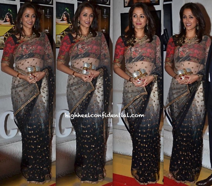Gayatri Oberoi In Sabyasachi At Dabboo Ratnani's 2014 Calendar Launch