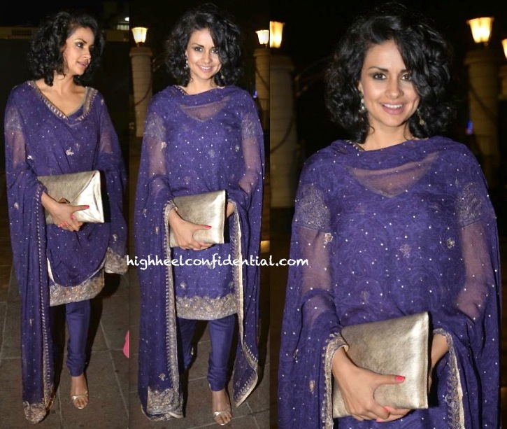 Gul Panag At Lohri Celebrations