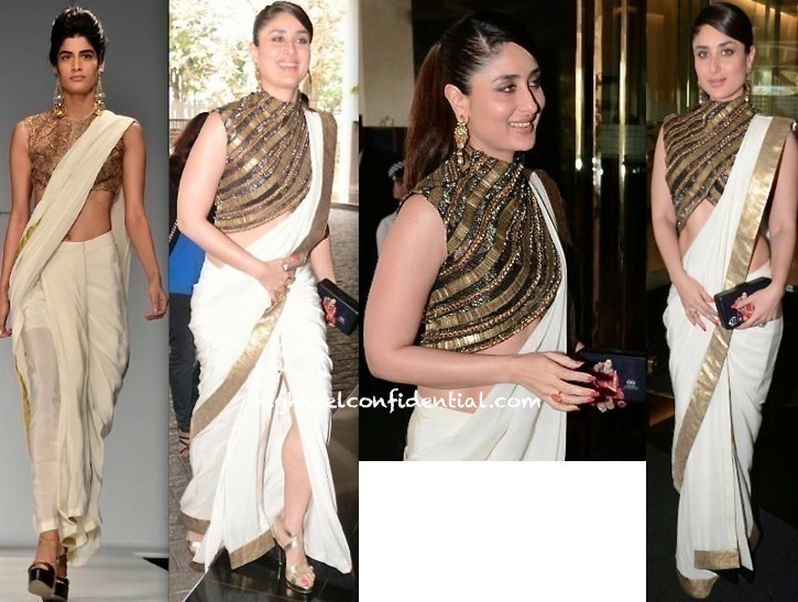Kareena Kapoor In Anand Kabra At A Luncheon Held In Honor Of Valérie Trierweiler-1