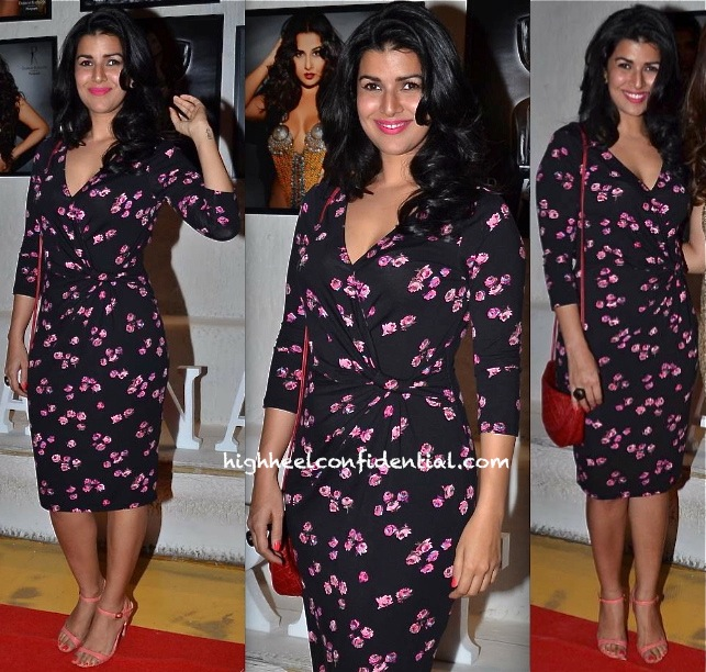 Nimrat Kaur In Oasis At Dabboo Ratnani's 2014 Calendar Launch