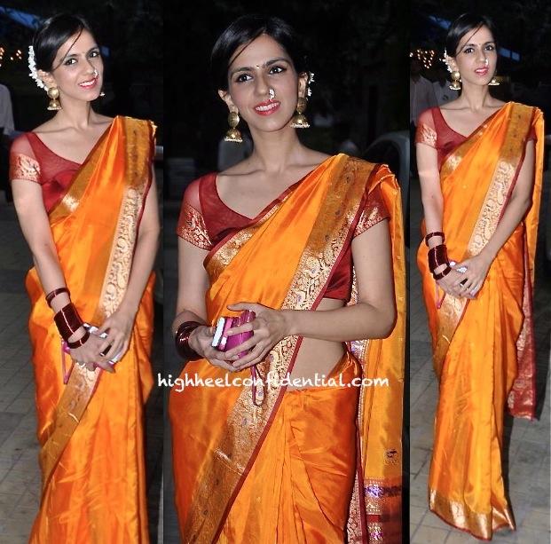Nishka Lulla At Sameera Reddy-Akshai Varde Wedding
