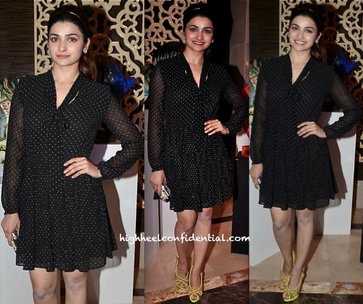 Prachi Desai At The 'Pinkfilly' Breast Cancer Awareness Fundraiser