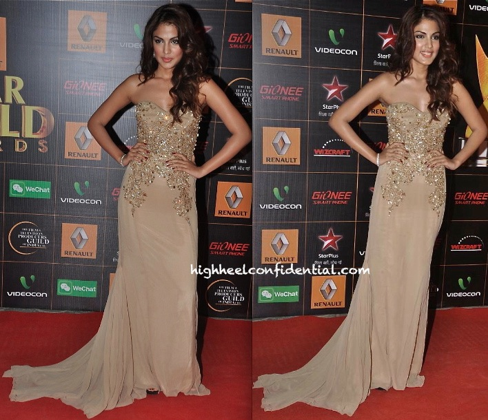Rhea Chakraborty In Swapnil Shinde At Star Guild Awards 2014