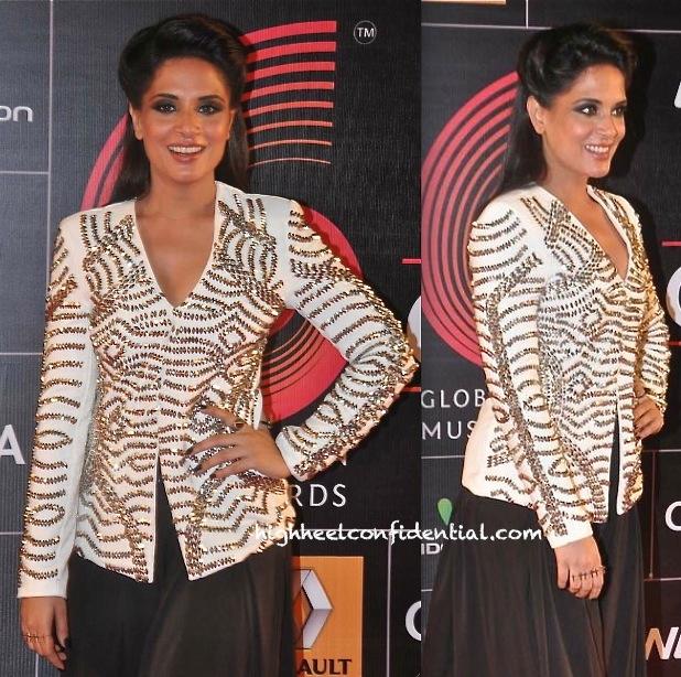 Richa Chadda In Namrata Joshipura And The Source At Global Indian Music Awards 2014-2