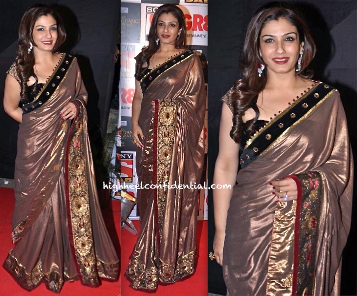 SAB Ke Satrangi Parivaar Awards-Raveena Tandon-2