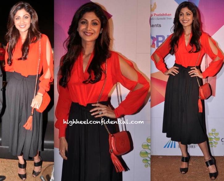 Shilpa Shetty At Worli Festival-2