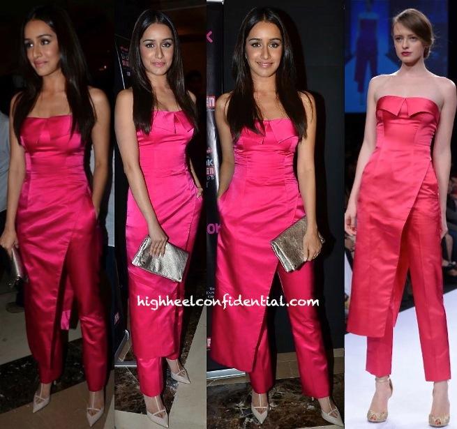 Shraddha Kapoor In Sailex At Screen Awards Nomination Party
