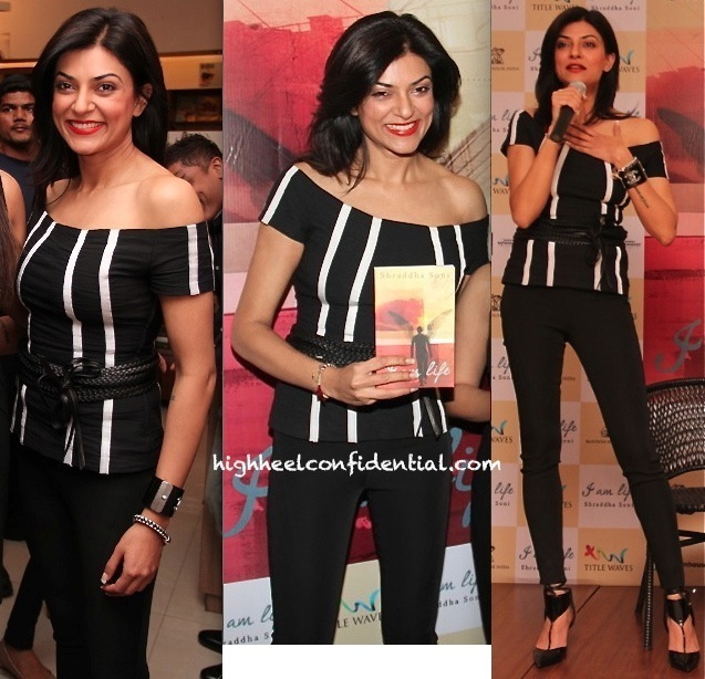 Sushmita Sen At 'Iam Life' Book Launch-2