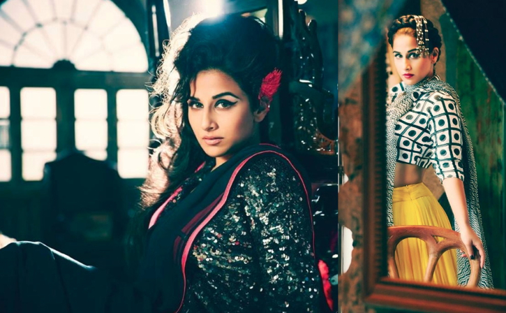 Vidya Balan On Filmfare January 2014-3