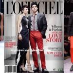 Adhuna & Farhan on L'Officiel: (Un)Covered