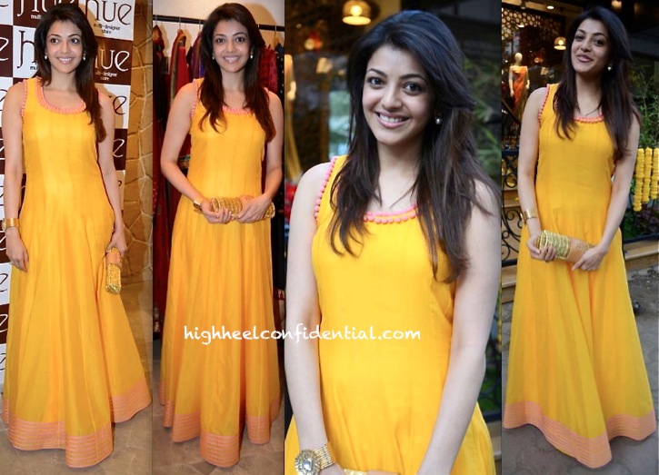kajal agarwal in sva at hue collection preview