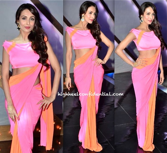 malaika arora khan in shivan narresh on india's got talent sets-2