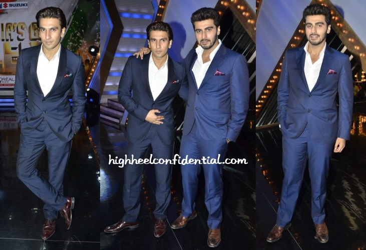 ranveer-singh-arjun-kapoor-india-talent-armani-corneliani