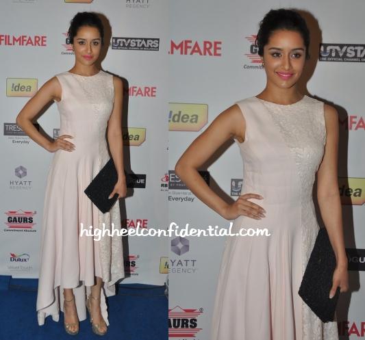 shraddha-kapoor-dior-filmfare-nominations-bash-2014