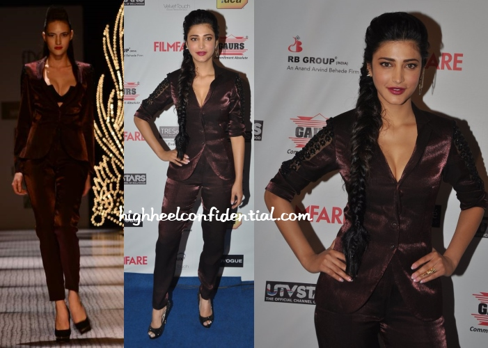 shruti-haasan-namrata-joshipura-filmfare-awards-nominations-party-2014