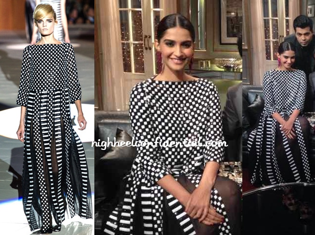 sonam-kapoor-marc-jacobs-spring-2013-koffee-with-karan