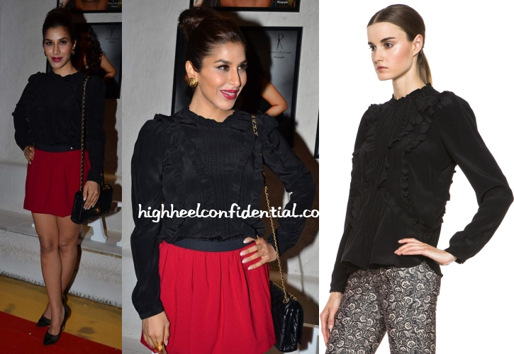sophie-choudry-isabel-marant-dabboo-ratnani-2014-calendar-launch