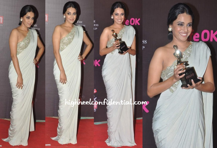 swara-bhaskar-rabani-rakha-lifeok-screen-awards-2014