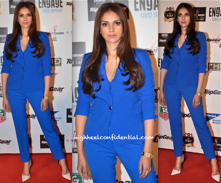 Aditi Rao Hydari In Zara At Top Gear Awards 2014-2