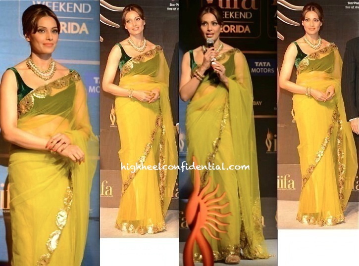 Bipasha Basu In Manish Malhotra At IIFA 2014 Press Meet-2