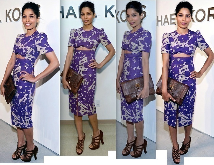 Freida Pinto At Michael Kors Show During New York Fashion Week-1