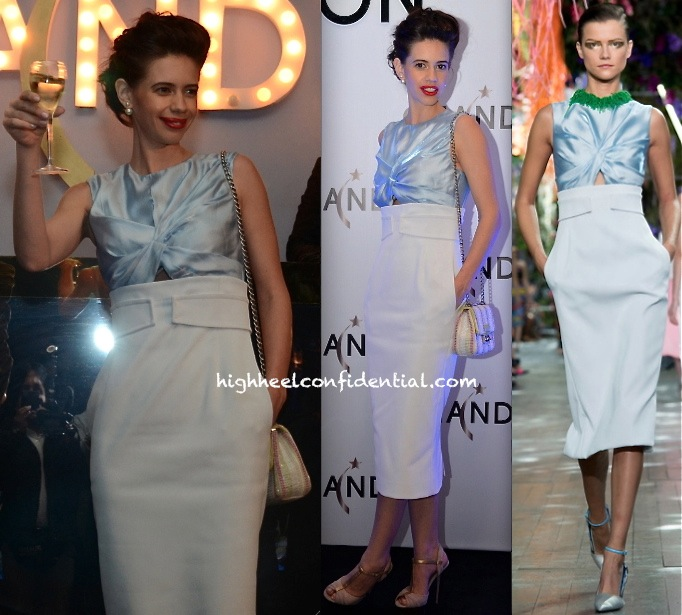 Kalki Koechlin In Christian Dior At Chandon Launch In Delhi