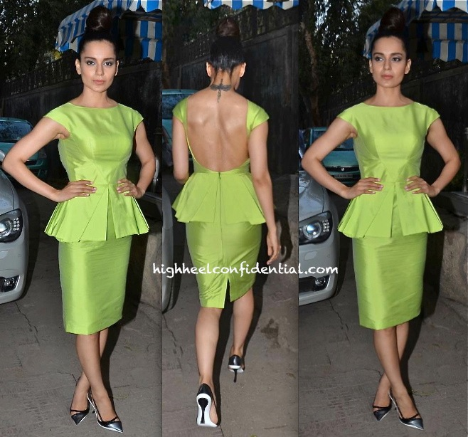 Kangna Ranaut At 'Queen' Promotions And At A Book Launch-3