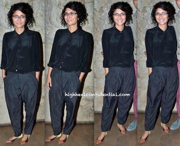 Kiran Rao At 'Gulabi Gang' Screening