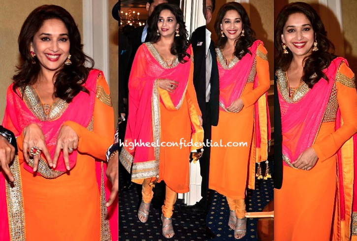 Madhuri Dixit At 'Temptation Reloaded' Press Meet In Malaysia