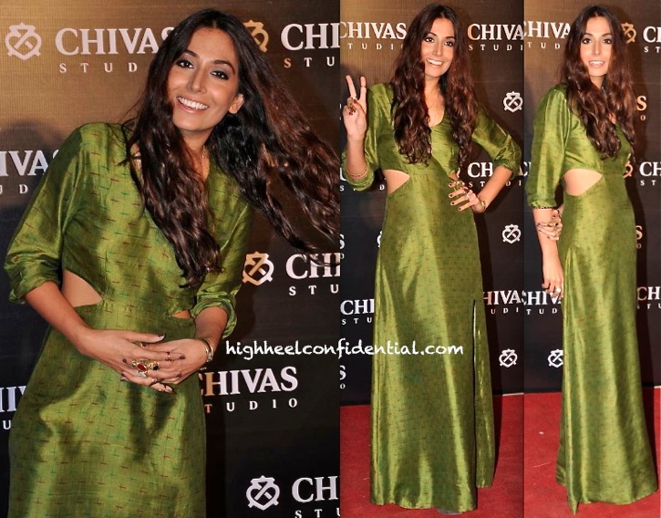 Monica Dogra (@Shaair) At Chivas Studio Event