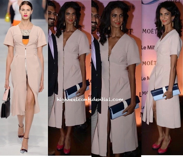 Poorna Jagannathan In Dior At Moët & Chandon And Le Mill Event-1