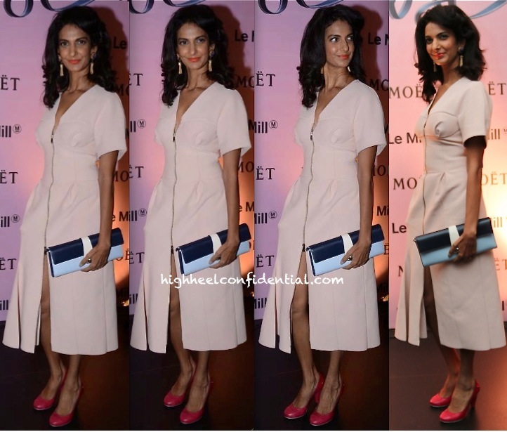 Poorna Jagannathan In Dior At Moët & Chandon And Le Mill Event-2