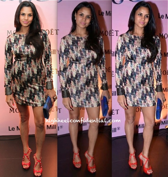 Pratima Gaurav In Saloni At Moët & Chandon And Le Mill Event