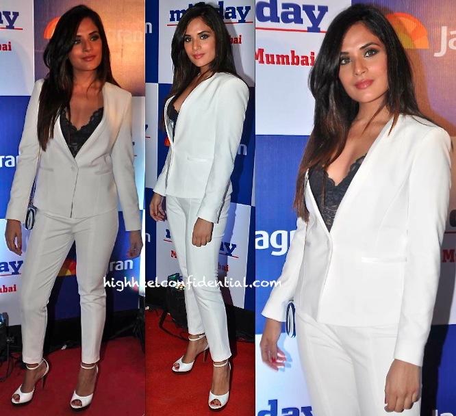 Richa Chadda In Zara At Mid-Day Bash