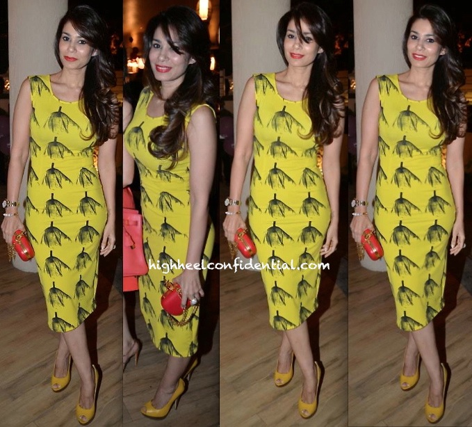 Shaheen Abbas In Masaba At 'Inch By Inch' Launch