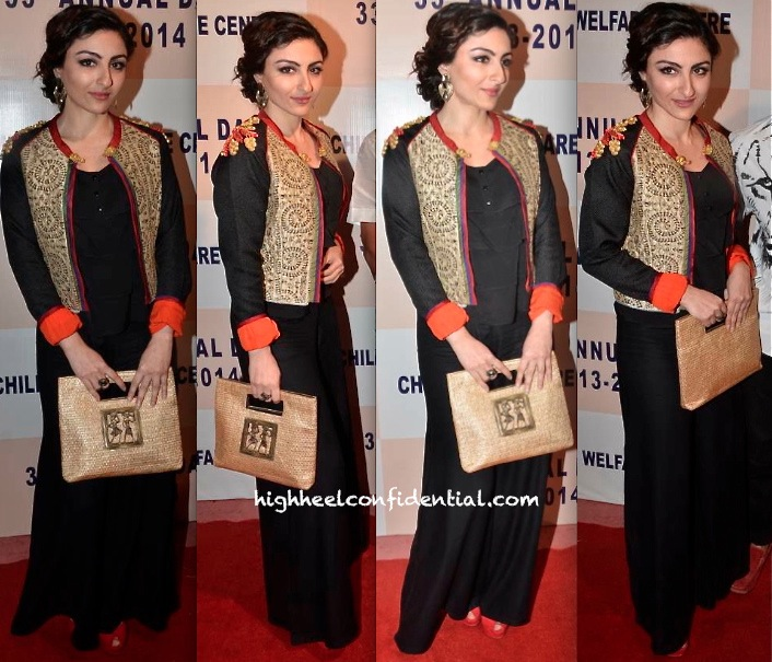 Soha Ali Khan At Children's Welfare Event