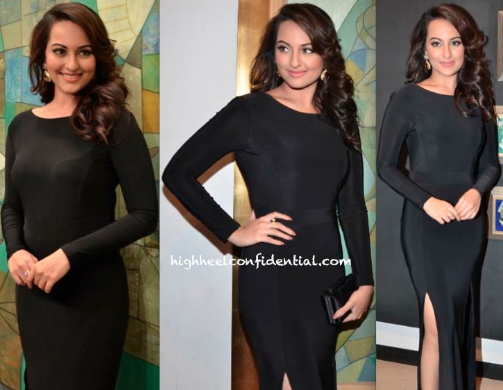Sonakshi Sinha At Neeraj Goswami's Art Exhibition-1