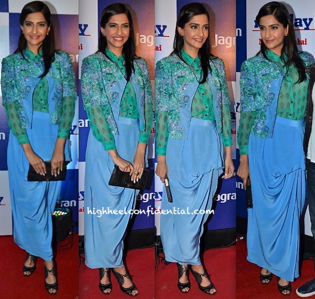 Sonam Kapoor In Ilk At Mid-Day Bash