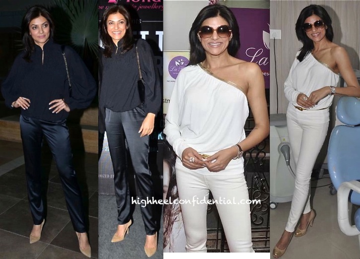 Sushmita Sen At La Piel Launch And At Secret To Master Your Mind Workshop