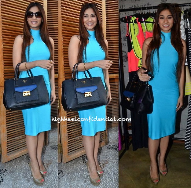 Tanisha Mukherjee At Harsh Harsh by Harsh Gupta Collection Launch
