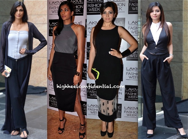 Anushka Manchanda And Shonali Nagrani In DRVV And Nikhil Thampi At LFW Summer 2014-1