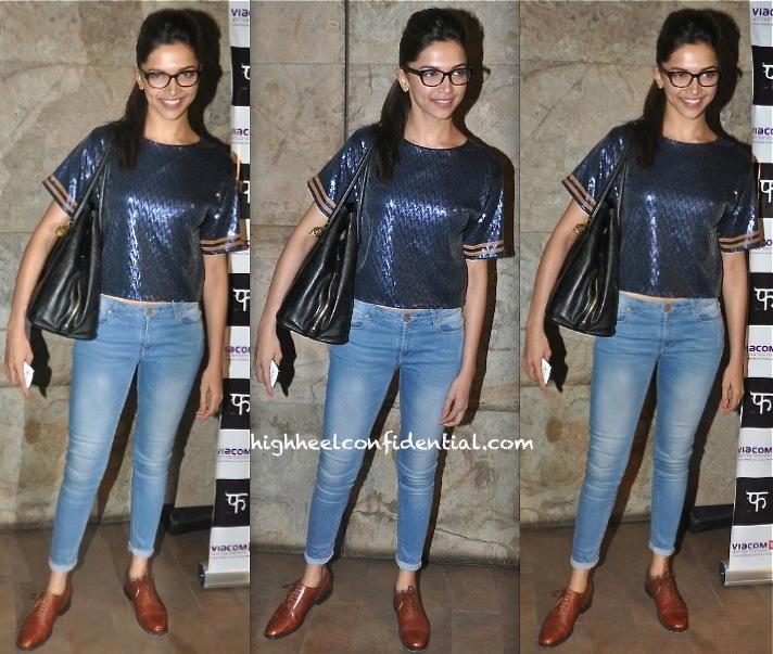 Deepika Padukone At Queen Screening