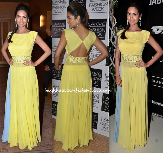 Esha Gupta At Manish Malhotra's Show, LFW Summer 2014