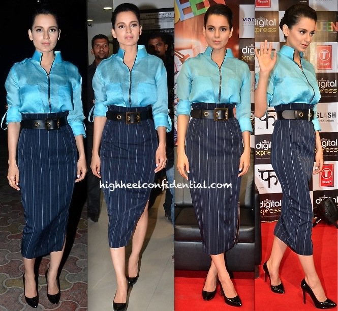 Kangna Ranaut At 'Queen' Promotions-2